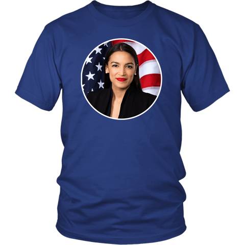 AOC Alexandria Ocasio-Cortez Voice Of The People President 2020 2024 Power To Democratic Socialist Democrat T-Shirt - Luxurious Inspirations