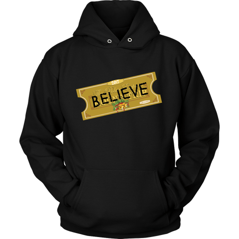 Believe Express Ticket For Santa 2017 Hoodie - Polar Edition Sweatshirt Shirt - Luxurious Inspirations