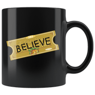 Believe Express Ticket For Santa 2018 Mug - Polar Edition Christmas Family Gift Dad Mom Coffee Cup - Luxurious Inspirations