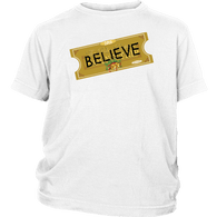 Believe Express Ticket For Santa 2018 Shirt - Polar Edition Christmas Family Gift Toddler Kids Tee - Luxurious Inspirations