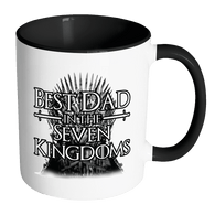 Best Dad In Seven Kingdoms Mug - Great Coffee Cup For Game Of Thrones Fans - Luxurious Inspirations