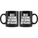 Best Fucking Wedding Officiant Mug - Funny Gag Reverend Pastor Joke Vulgar Adult Humor Gift Coffee Cup - Luxurious Inspirations