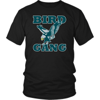 Bird Gang Eagle T-Shirt - Philadelphia Underdogs Fly Eagles Fly Football Tee Shirt - Luxurious Inspirations