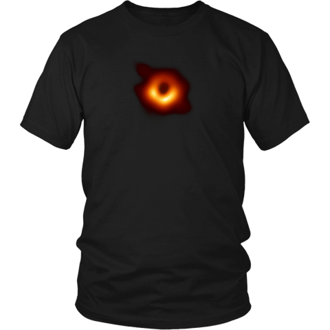Black Hole Astrology Discovery Image T-Shirt - Science Is Awesome April 10 2019 Discovery Tee Shirt - Luxurious Inspirations