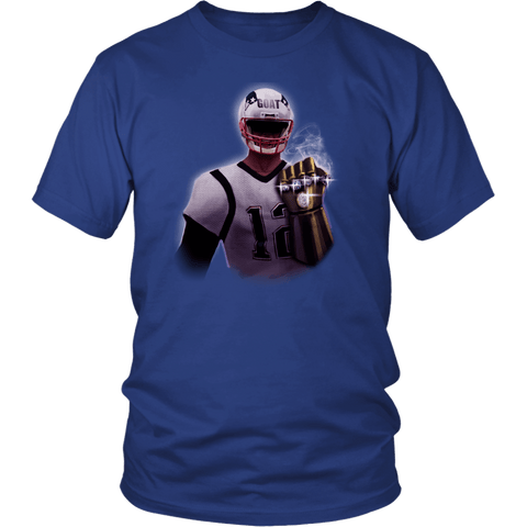 Brady GOAT Gauntlet 6th Championship Ring T-Shirt - MVP 12 Greatest Of All Time Fan Tee Shirt - Luxurious Inspirations