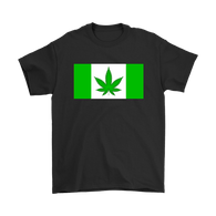 Canada Canabis Weed Flag Canadian T-Shirt - Funny Legal Pot Marijuana Tee Shirt - Luxurious Inspirations