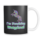 Canada 	I'm Fucking Magical Mug - Funny Offensive Vulgar Unicorn Adult Coffee Cup - Luxurious Inspirations