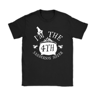 Canada I'm The Fourth Sanderson Sister Shirt - Funny Halloween Witch Hocus Pocus Tee T-shirt teelaunch Gildan Womens T-Shirt Black S
