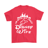 Canada I'm With My Crazy Disney Wife Shirt - Funny Travel Husband Tee … - Luxurious Inspirations