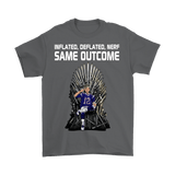 Canada Inflated Deflated Nerf Same Outcome Shirt - Funny 12 GOAT Fan Tee - Luxurious Inspirations