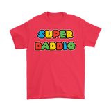 Canada  Super Daddio Shirt - Funny Mario Dad Tee - Luxurious Inspirations