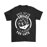 Canada World Of Tees When The DM Smiles It's Already Too Late Dungeon and Dragons DND D&D Shirt - Luxurious Inspirations