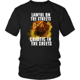 Chaotic in The Sheets Double Meaning DND T-Shirt T-shirt teelaunch District Unisex Shirt Black S