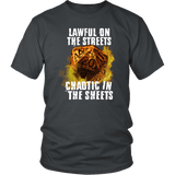 Chaotic in The Sheets Double Meaning DND T-Shirt T-shirt teelaunch District Unisex Shirt Charcoal S