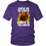 Chaotic in The Sheets Double Meaning DND T-Shirt T-shirt teelaunch District Unisex Shirt Purple S