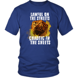 Chaotic in The Sheets Double Meaning DND T-Shirt T-shirt teelaunch District Unisex Shirt Royal Blue S
