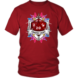 Chaotic Lucky D20 Dice DND T-Shirt - Luxurious Inspirations