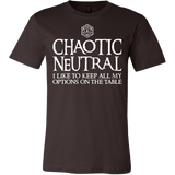 Chaotic Neutral Shirt - Funny DnD Dungeons And Dragons Tee - Luxurious Inspirations