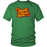 Chaotic Stupid Shirt - Luxurious Inspirations