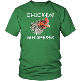 Chicken Whisper Funny Farmer Farming Eggs T-Shirt - Luxurious Inspirations
