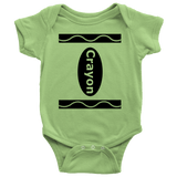 Crayon Baby Onesie - Funny Halloween Costume For Boy And Girl Babies - Luxurious Inspirations