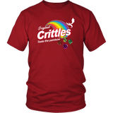 Crittles Taste The Painbow DND T-Shirt - Luxurious Inspirations