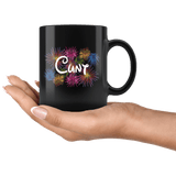 Cunt Art Fireworks Parody Mug - Funny Offensive Rude Crude Vulgar Coffee cup - Luxurious Inspirations