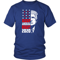 Keep America Great 2020 Trump Elections T-Shirt - Support Donald Fathers Mothers Day Christmas Gift July 4th Patriotic Tee Shirt - Luxurious Inspirations