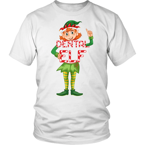 Christmas Dentist Elf.Dental Elf Christmas Shirt Funny Santa S Little Helper