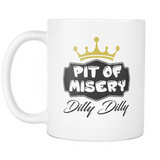 Dilly Dilly Beer Mug - A Pit Of Misery A True Friend Of The Crown Coffee Cup - Luxurious Inspirations