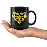 DND D20 Dice Heart Love Couples Mug - Funny RPG Critical Hit Role MMO Gaming Coffee Cup - Luxurious Inspirations
