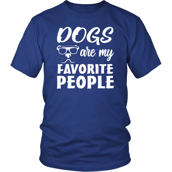 Dogs Are My Favorite People Funny Dog Lover Proud Loving T-Shirt - Luxurious Inspirations
