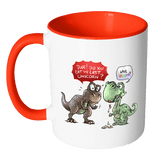Dude Did You Eat The Last Unicorn Mug - Funny T-Rex Magical Horse Coffee Cup - Luxurious Inspirations
