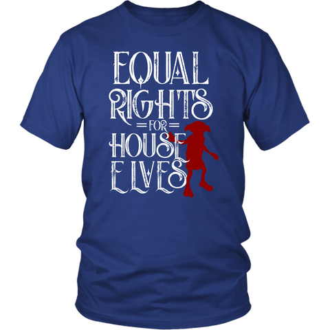 Equal Rights For House Elves Magical T-Shirt - Luxurious Inspirations