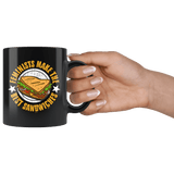 Feminists Make The Best Sandwiches Mug - Funny Offensive Rude Crude Adult Humor Men Women Coffee Cup - Luxurious Inspirations