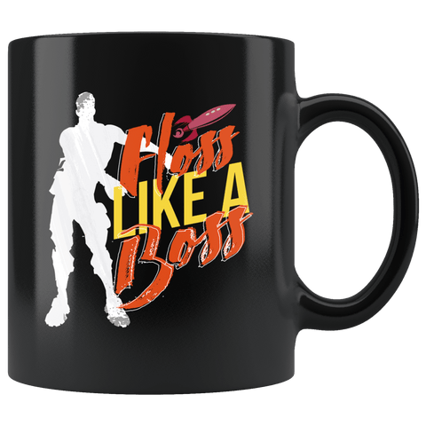 Floss Like A Boss Mug - Funny Newest Dancing Move Trend Flossing Cool Gift Coffee Cup - Luxurious Inspirations