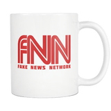 FNN Fake News Network Mug - Funny Trump Media Accusations Coffee Cup - Luxurious Inspirations