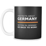 Fun Facts About Germany Mug Drinkware teelaunch