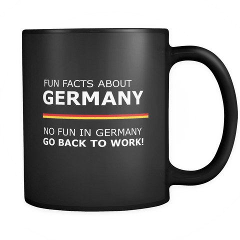 Fun Facts About Germany Mug - Luxurious Inspirations