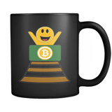 Funny Bitcoin Rollercoaster Mug - Cryptocurrency Ethereum Ripple LiteCoin Coffee Cup - Luxurious Inspirations