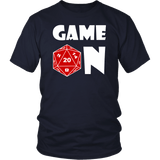 Game On DND T-Shirt - Luxurious Inspirations