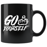 Go Fuck Yourself F Vulgar Middle Finger Offensive Mug - Rude Flipped Off Coffee Cup - Luxurious Inspirations