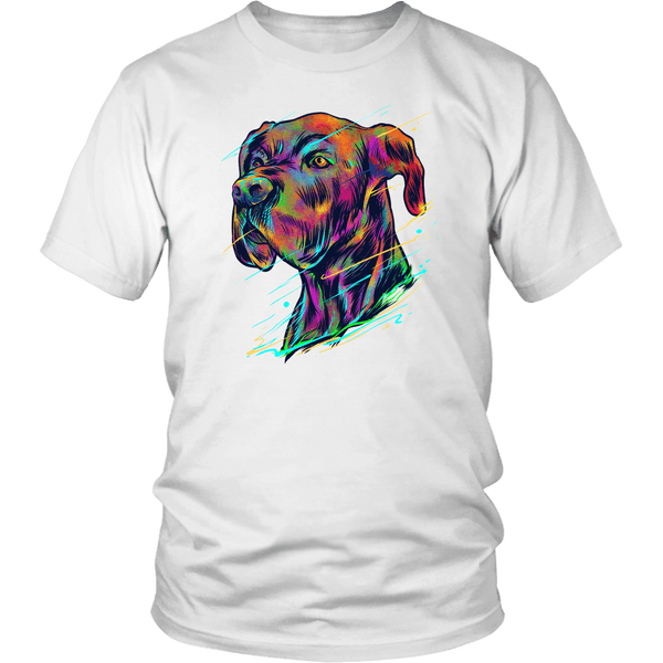 Great Dane Art Lover T-Shirt - Luxurious Inspirations