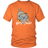 Harry Pawter Magical Dog Lover T-Shirt T-shirt teelaunch District Unisex Shirt Orange S