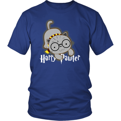 Harry Pawter Magical Dog Lover T-Shirt T-shirt teelaunch District Unisex Shirt Royal Blue S