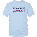 Haywood Jablowme T-Shirt - Funny Offensive Vulgar Rude Blow Me Trump Elections Parody Tee Shirt - Luxurious Inspirations
