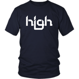 High Pot Weed 420 Drugs Fun Art T-Shirt - Luxurious Inspirations