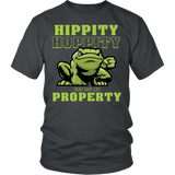 Hippity Hoppity Get Off My Property Shirt - Funny Frog Toad Dank Meme Tee - Luxurious Inspirations