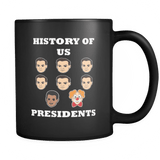 History Of US Presidents Mug - Luxurious Inspirations