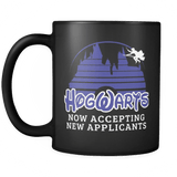 Hogwarts Castle Mug - Now accepting new applications Disney Coffee Cup Drinkware teelaunch